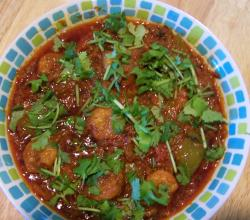 SPICY PRAWN &amp; CAPSICUM CURRY